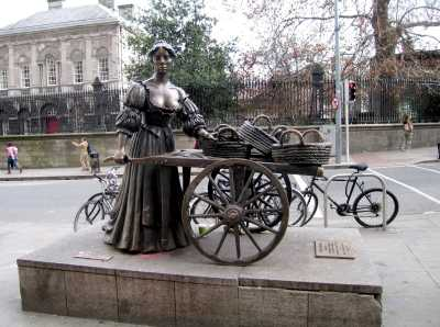 Statue of Molly Malone, Dublin city centre