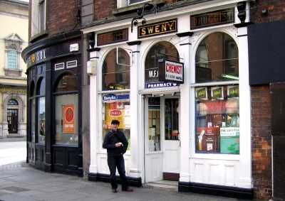 On the James Joyce trail, Sweny's chemist, where Leopold Bloom buys Molly a bar of lemon-scented soap