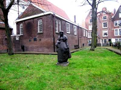 Sculpture in The Begijnhof Convent