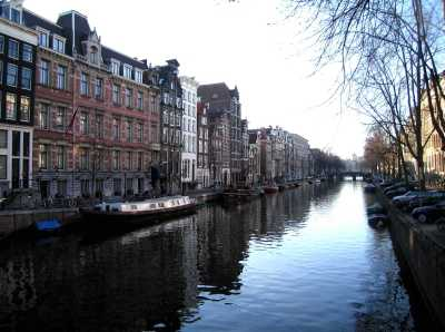 Canal with stately quality
