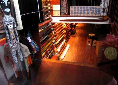 Didgeridoo shop, Paleisstraat, Amsterdam