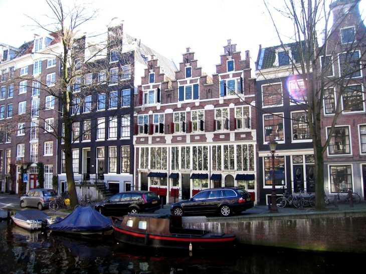 De Drie Hendricken, Bloemgracht, Jordaan district