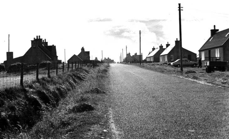 Village on The Isle of Lewis