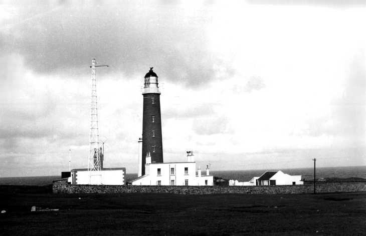 The lighthouse, Butt of Lewis