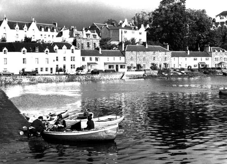 The Isle of Skye, Portree harbour