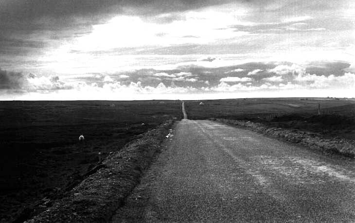 Lonely Road, Lewis, The Hebrides Islands