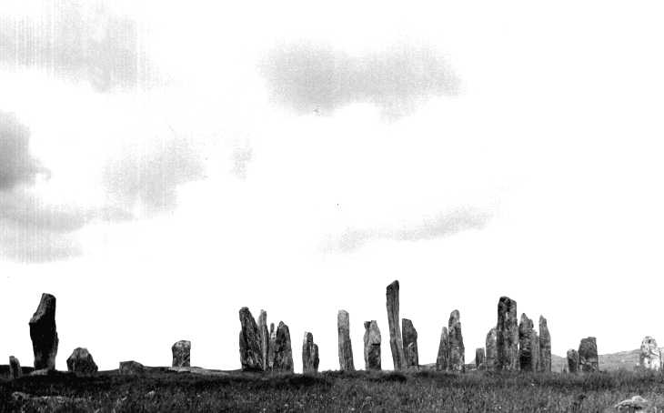 The Standing Stones of Callanish, Lewis, The Hebrides Islands