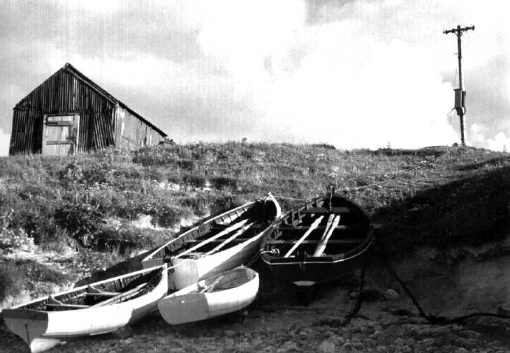 Boats on Lewis, The Hebrides Islands, Scotland