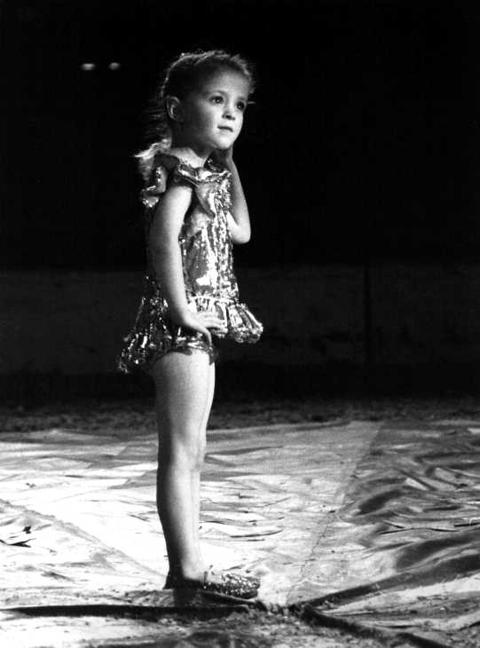 Young performer at Gerry Cottle's Circus