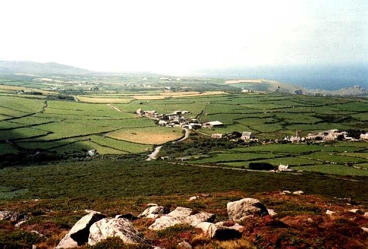Landscape at Zennor, Cornwall