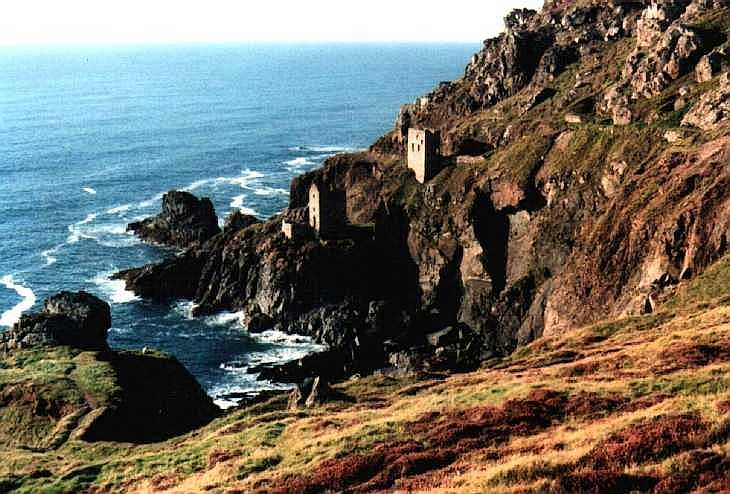 Disused tin mines, Botallack, Cornwall