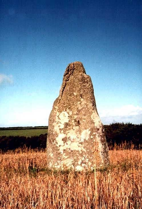 The Blind Fiddler, Cornwall standing stones