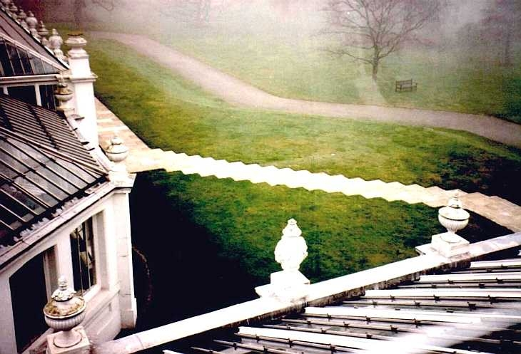 View from high window, Kew Gardens, London