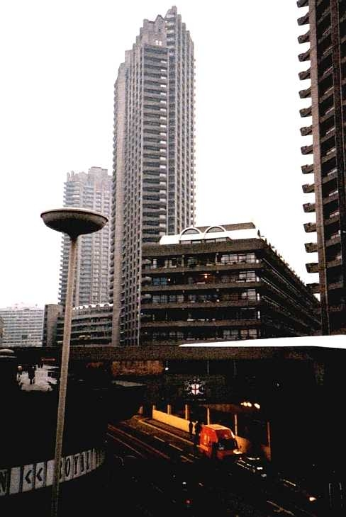 The Barbican Towers, City of London