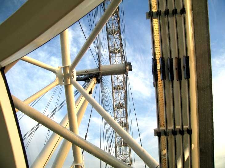 Below The London Eye