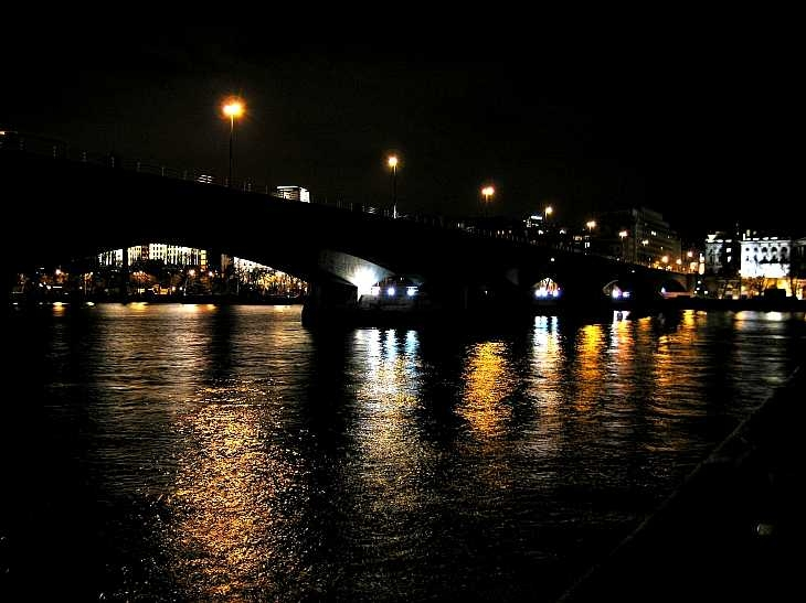 River Thames, Waterloo Bridge, London
