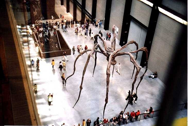 Spider Sculpture Tate Modern Gallery London Photo Zen Photography