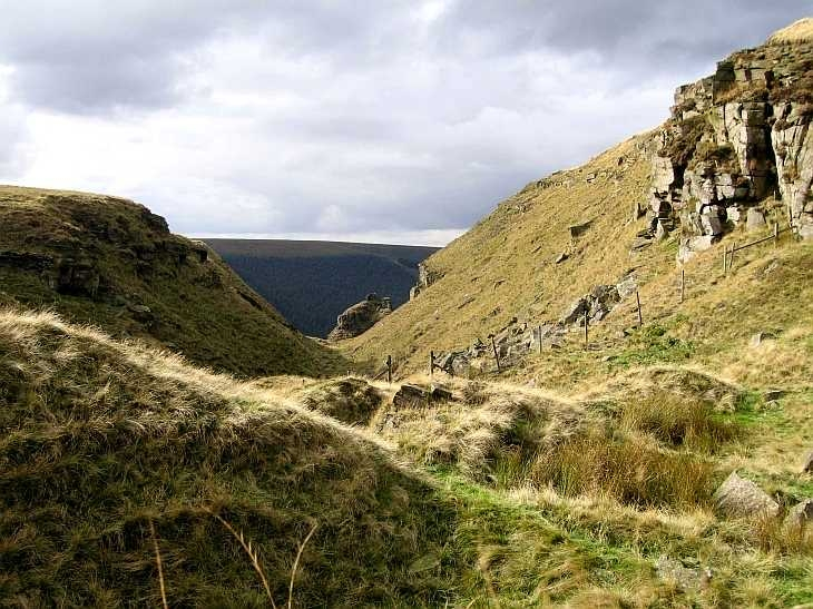 Alport Castles, The Peak District, Derbyshire