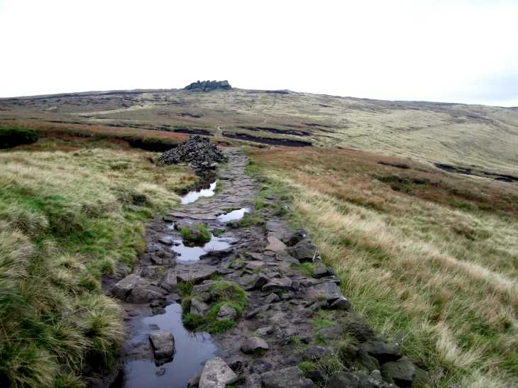 Kinder Scout near Edale, The Peak District