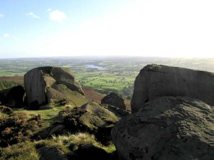 On The Roaches, Derbyshire Peak District