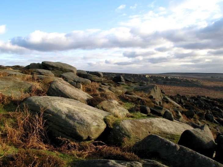 Near Higger Tor, Hathersage Moor, Derbyshire Peak District