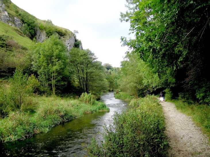 Riverside walk, Dovedale, The Peak District