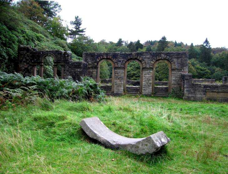 Arches, Errwood Hall in The Goyt Valley