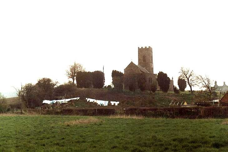 Village church, Norfolk