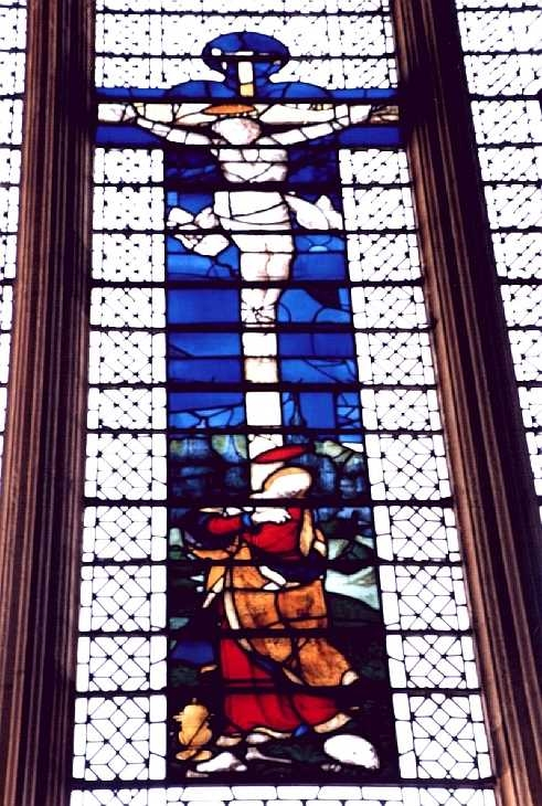 Stained glass window, York Minster, Yorkshire