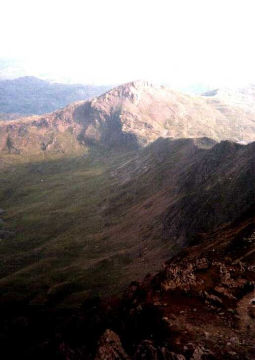Ridge view, Snowdonia, North Wales
