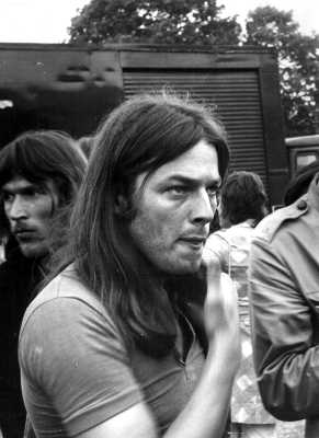 David Gilmour of Pink Floyd at Hyde Park, London