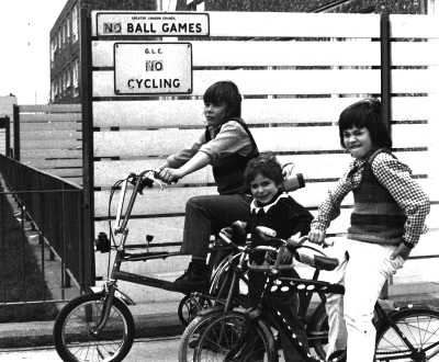 No ball games, no cycling