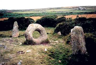 Men-an-tol, Cornwall standing stones