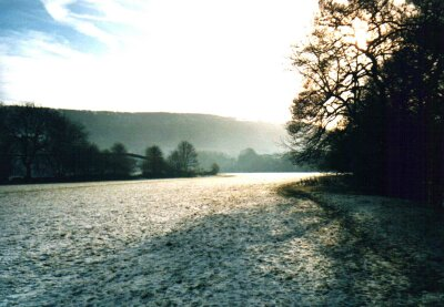 Near Grindleford, Derbyshire, The Peak District in snow