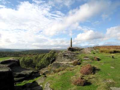 Nelson's Monument, Birchen Edge, Derbyshire Peak District