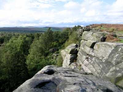 Birchen Edge, Derbyshire Peak District