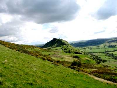Chrome Hill from the north