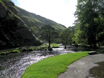 The River Dove, Dovedale, The Peak District