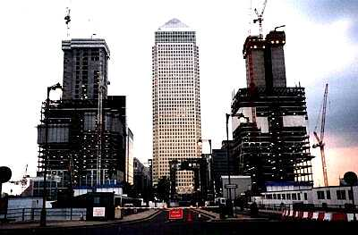 London Docklands, Canary Wharf