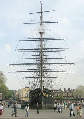 London, Greenwich, Cutty Sark