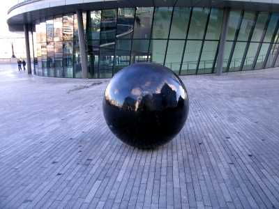 Sculpture, GLA headquarters, London, South Bank