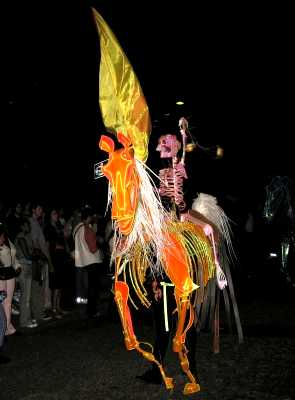 London. Thames Festival. Parade